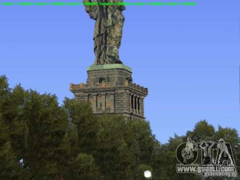 Statue of liberty 2013 for GTA San Andreas third screenshot