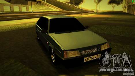 VAZ 2109 Light Tuning for GTA San Andreas