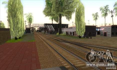 Russian Rail v2.0 for GTA San Andreas forth screenshot