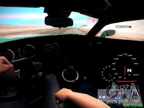 Pontiac Solstice Falken Tire for GTA San Andreas side view