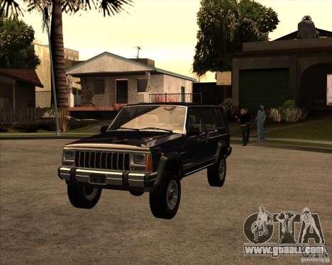 Jeep Cherokee for GTA San Andreas