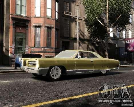 Pontiac Bonneville 1966 for GTA 4 left view