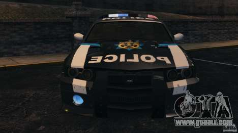 NFSOL State Police Car [ELS] for GTA 4 side view