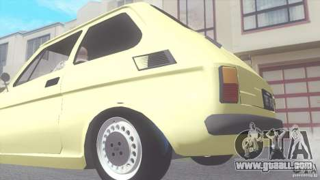 Fiat 126 for GTA San Andreas right view