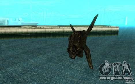 The shuttle from the game Aliens vs Predator 3 for GTA San Andreas back view