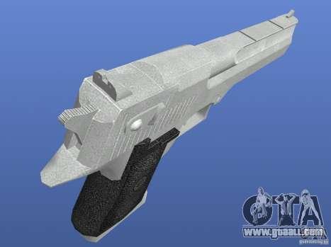 Silver Deagle for GTA 4 third screenshot