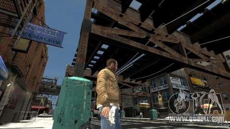 Uzi Skin for GTA 4