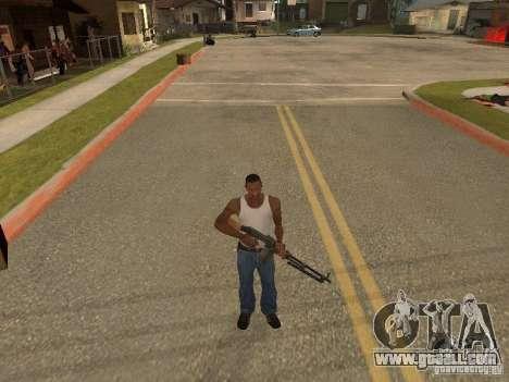 Light Machine Gun Dâgterëva for GTA San Andreas sixth screenshot