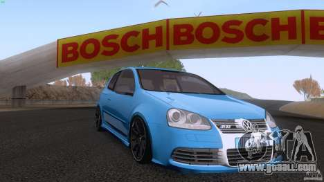 VW Golf 5 R32 2006 StanceWorks for GTA San Andreas right view