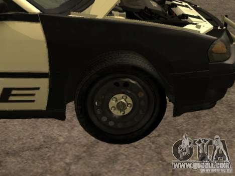 Chevrolet Impala Police 2003 for GTA San Andreas inner view