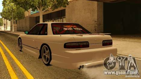 Nissan Silvia S13 MyGame Drift Team for GTA San Andreas left view