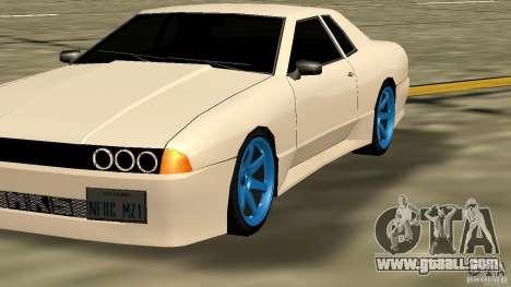 Elegy MIX V.1 for GTA San Andreas