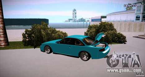 Nissan Silvia S14 JDM WAY for GTA San Andreas left view