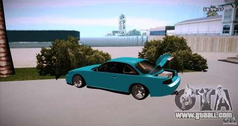 Nissan Silvia S14 JDM WAY for GTA San Andreas left view