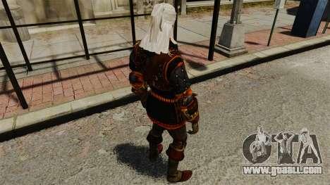 Geralt of Rivia v2 for GTA 4 fifth screenshot