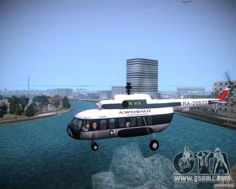 MI-8 for GTA Vice City back left view