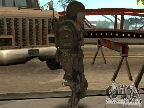 Combat soldiers from CoD: Mw2 for GTA San Andreas forth screenshot