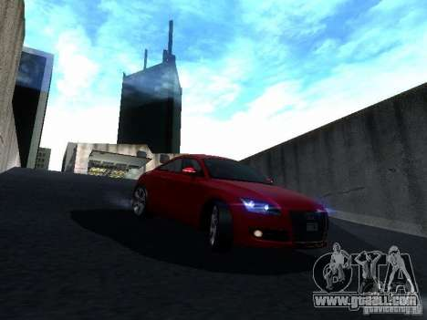 Audi TT 2009 v2.0 for GTA San Andreas side view