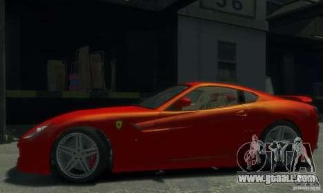 Ferrari 599 GTB Novitec Rosso for GTA 4 left view