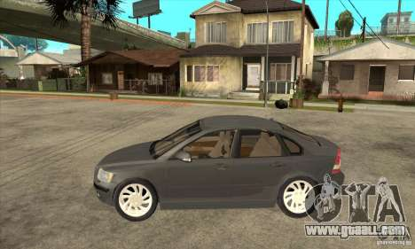 Volvo S40 2008 for GTA San Andreas left view