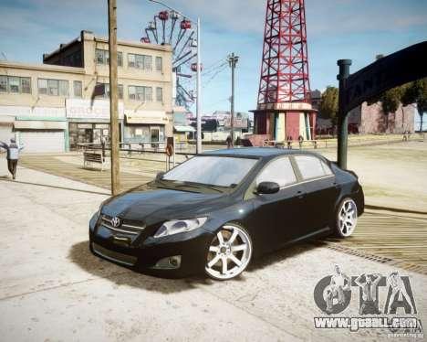 Toyota Corolla 2009 for GTA 4