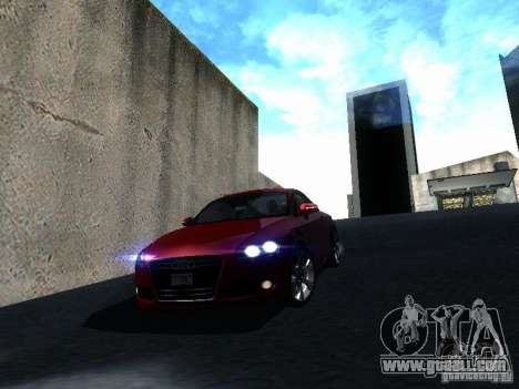 Audi TT 2009 v2.0 for GTA San Andreas
