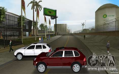Porsche Cayenne for GTA Vice City inner view