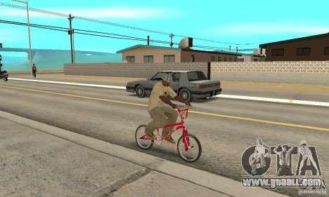 Noxon Jump Bmx for GTA San Andreas right view