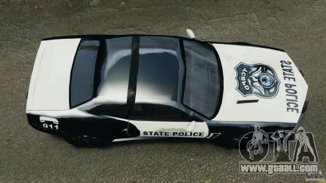 NFSOL State Police Car for GTA 4 right view