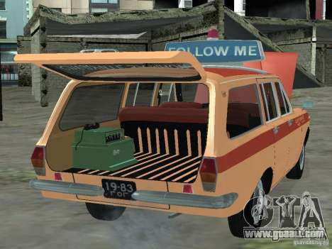 GAZ-24 Volga AEROFLOT 02 for GTA San Andreas right view