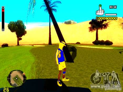 Skin bum v2 for GTA San Andreas forth screenshot