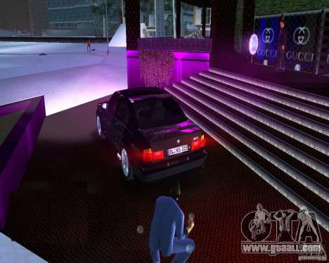 BMW M5 E34 1990 for GTA Vice City left view