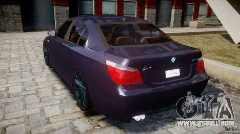 BMW M5 Lumma Tuning [BETA] for GTA 4 back left view