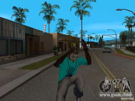 Guy Fawkes Mask for GTA San Andreas third screenshot