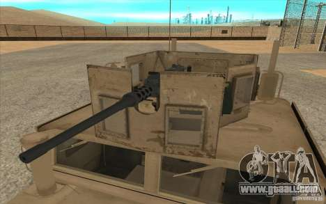 Hummer H1 Military HumVee for GTA San Andreas right view