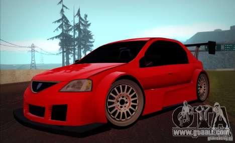 Dacia Logan Trophy Edition 2005 for GTA San Andreas