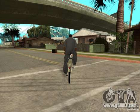 New bike for GTA San Andreas left view
