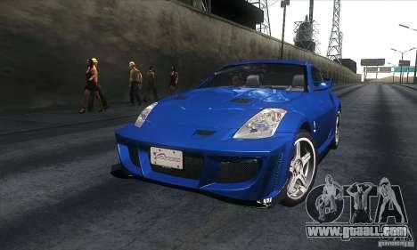 Nissan 350Z Varis for GTA San Andreas