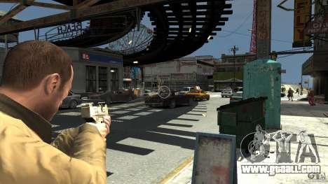 Uzi Skin for GTA 4 second screenshot