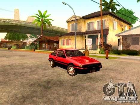 Toyota Corolla Carib AE 86 for GTA San Andreas