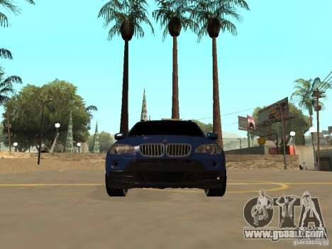 BMW X5 for GTA San Andreas inner view