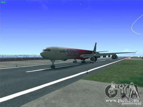 Airbus A340-600 Etihad Airways F1 Livrey for GTA San Andreas