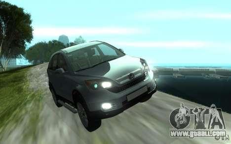 Honda CR-V for GTA San Andreas back view
