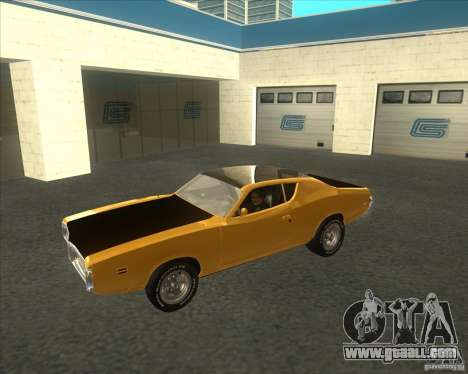 Dodge Charger RT 1971 for GTA San Andreas left view