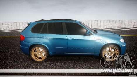 BMW X5 M-Power wheels V-spoke for GTA 4 inner view