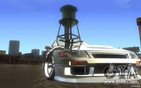Nissan Silvia S13 Odyvia for GTA San Andreas back view