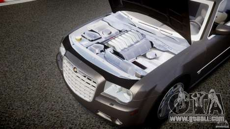 Chrysler 300C 2005 for GTA 4 inner view