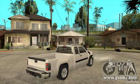 GMC Sierra for GTA San Andreas right view