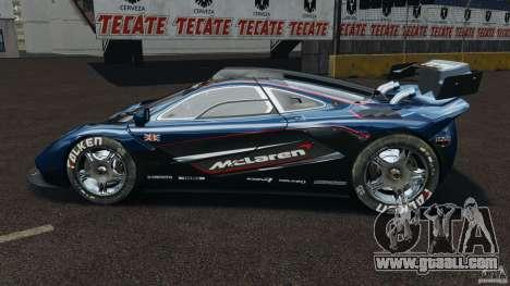McLaren F1 ELITE for GTA 4 left view