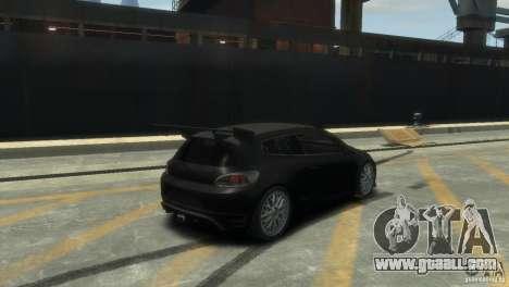 Volkswagen Scirocco GT-24 for GTA 4 right view